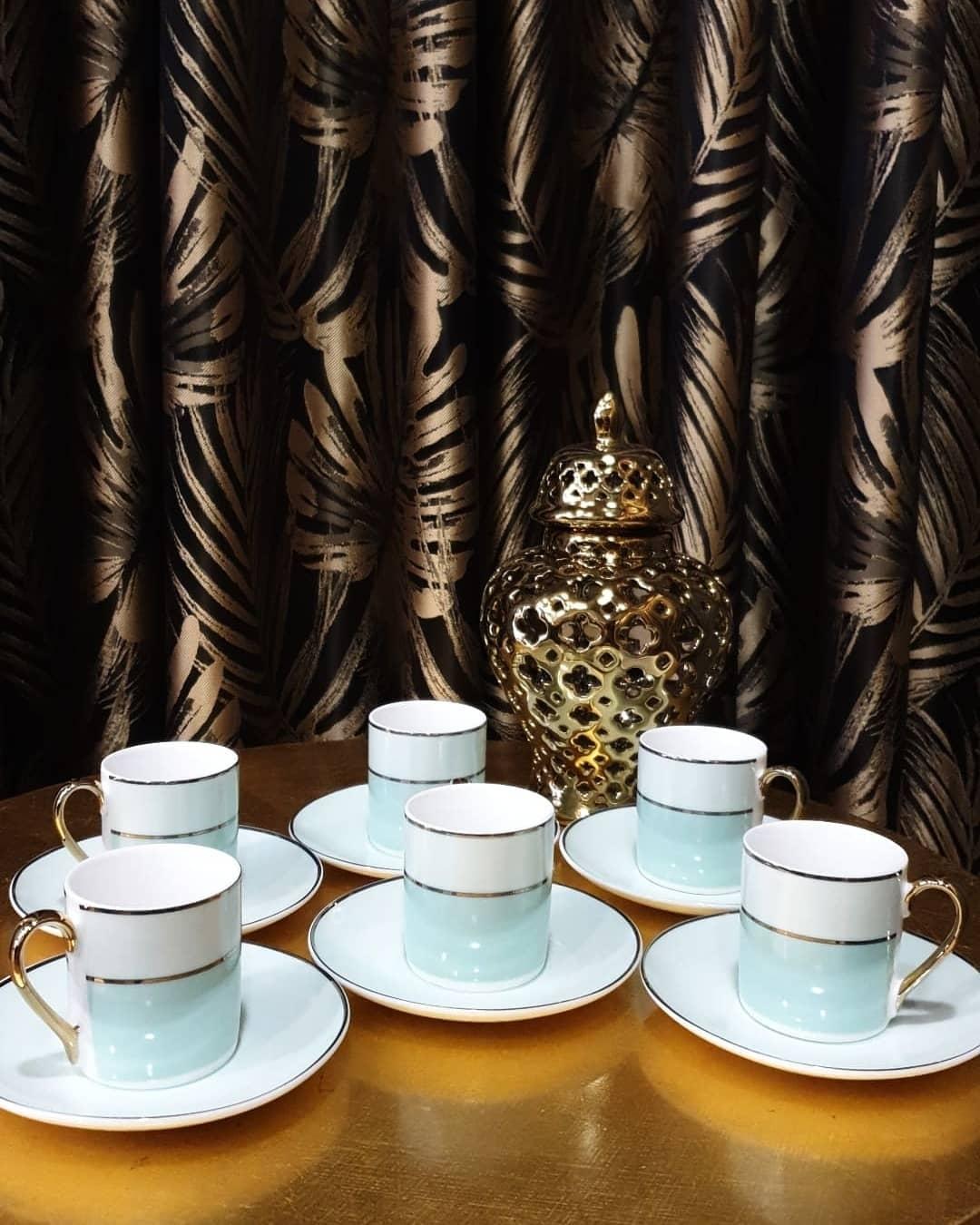 6 Kişilik Kahve Fincan Seti
