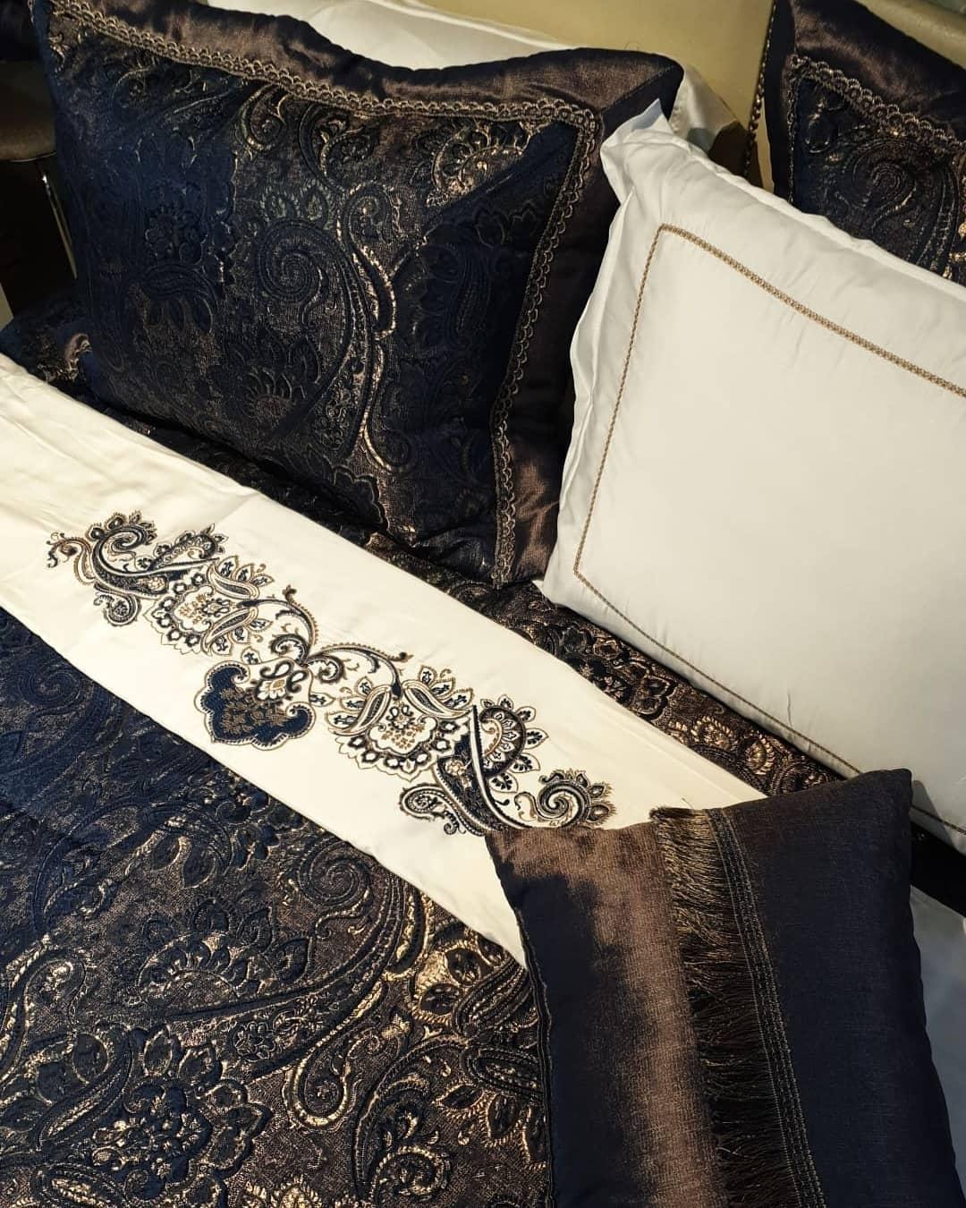 Lacivert ve gold evlilik paketi